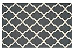 Mulberry Rug, Dark Gray/Ivory