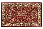Curran Rug, Red/Ivory