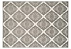 Brea Outdoor Rug, Cream/Gray