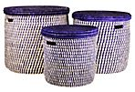 Asst. of 3 Turkana Hampers, Purple
