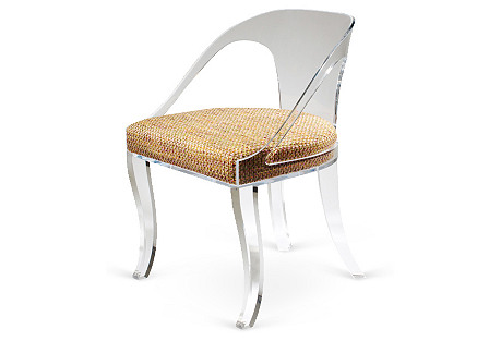 Timothy Whealon Klismos Chair, Tweed