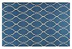 Pippa Flat-Weave Rug, Blue