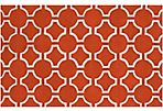 Theia Rug, Poppy Red