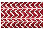 Haven Flat-Weave Rug, Red