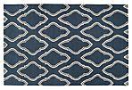Zeus Flat-Weave Rug, Blue