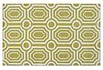 Undertow Rug, Fern Green/White