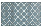 Athena Flat-Weave Rug, Gray