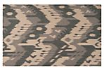 Sam Flat-Weave Rug, Taupe/Multi