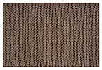 3'x5' Fargo Braided Rug, Mushroom