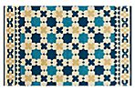Ruskin Outdoor Rug, Blue