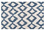 Kendall Flat-Weave Rug, Navy