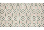 Arete Flat-Weave Rug, Tan
