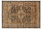 Basilica Rug, Dark Brown
