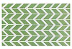 5'x8' Haven Flat-Weave Rug, Green