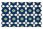 Hera Flat-Weave Rug, Blue