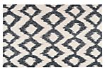 9'x13' Kendall Flat-Weave Rug, Ink
