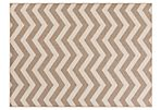 Chevron Outdoor Rug, Neutral
