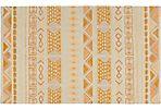 Valles Flat-Weave Rug, Gold