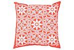 Capri Outdoor Pillow, Orange
