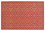 Ryle Outdoor Rug, Red