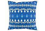 Besio 18x18 Outdoor Pillow, Indigo
