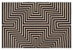 Riving Flat-Weave Rug, Charcoal