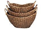 S/3 Corn Husk Baskets