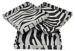 Asst. of 3 Zebra Trays, Brown