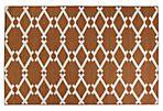 Maria Flat-Weave Rug, Rust