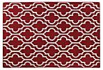 Juliet Flat-Weave Rug, Red