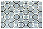 Mina Flat-Weave Rug, Blue