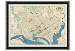 Map of Washington DC