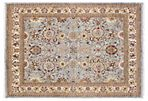 "8'x9'8"" Dvora Rug, Light Blue/Ivory"