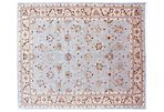 "8'8""x11'6"" Falces Rug, Light Blue/Beige"