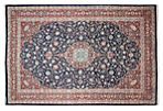 "13'1""x19'9"" Titus Rug, Blue/Red"