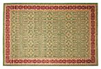 "11'10""x17'10"" Hans Rug, Green/Red"