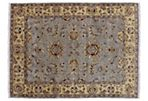 "5'1""x7' Charos Rug, Gray/Gold"
