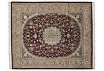 "8'1""x10' Ulan Rug, Red/Tan"