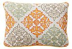 Tilework 14x20 Linen Pillow, Multi