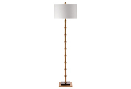 Devon Floor Lamp, Gold