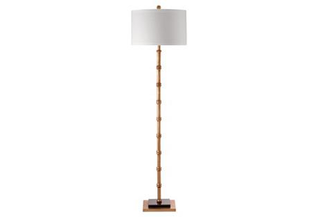 Devon Floor Lamp, Gold