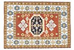 "5'6""x7'11"" Finest Mouri Rug, Brown/Cream"