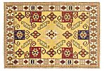 "5'8""x8'3"" Finest Mouri Rug, Beige/Yellow"