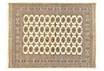"5'7""x7'7"" Chechen Rug, Light Gold"