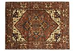 "8'10""x11'10"" Enide Rug, Dark Orange"