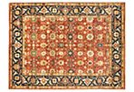 9'x12' Serapi Heritage Rug, Dark Copper