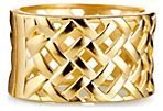 Hinged Basket-Weave Cuff