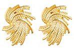 Swirl Fan Earrings