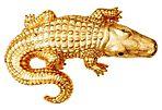 Chic Alligator Pin