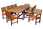 Mitt 11-Pc Extendable Dining Set